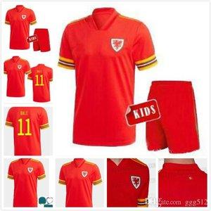 2020 2021 Wales soccer jersey 20 21 BALE ALLEN James Ben Davies Wilson camisetas national team home man + kids football shirts top thailand