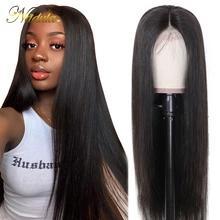 Cheveux 13 * 4/6 Dentelle Front Human Cheveux Perruques Précédents blanchis Perruque Perruque droite Dentelle avant Perruque frontale 360 en dentelle
