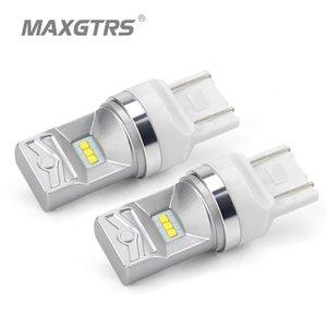 MAXGTRS T20 7443 LED لمبات W21 / 5W LED أضواء السيارات بدوره إشارة ضوء الفرامل وقوف السيارات السيارات الخفيفة الضباب مصابيح التوقف مصباح توقف