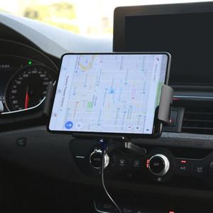 Автоматический зажим для автомобилей Ци беспроводной зарядное устройство для Samsung Galaxy Note Fold 10 9 S10 iPhone XR XS 11 Max Air Vent Mount телефон владельца