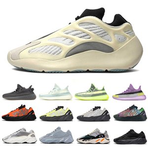 Nuovo Azael mens scarpe da corsa 700 onda corridore Malva 700 zebra allevati Beluga Yecher Asriel Israfil delle donne degli uomini di sport scarpe da ginnastica