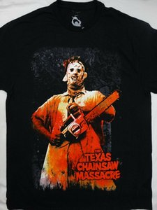 Cotone manica corta 2020 Texas Chainsaw Massacre Leatherface Horror Movie T-shirt 100%
