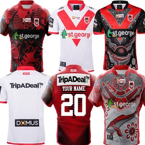 New 2020 2021 Commemorative Indigenous Rugby Jerseys NRL Rugby League Jerseys 19 20 21 ST GEORGE ILLAWARRA DRAGONS NRL Nines Jersey S-5XL