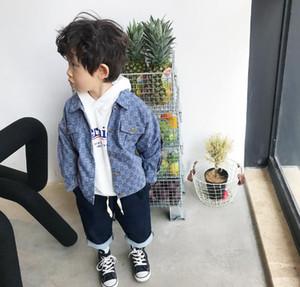 Nouveaux enfants Printemps Automne Boys Vestes Fashion Girls Cowboy Veste Vêtements pour enfants Vêtements enfants