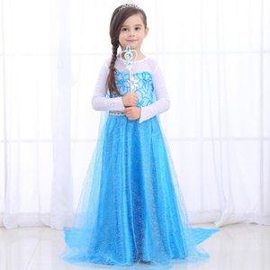 Infant Abiti Elza bambini costumi principessa Dress for Girls partito Vestiti Fantasia ragazza dei capretti vestiti del partito di Halloween