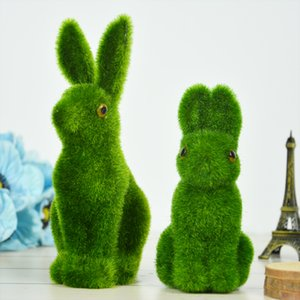 Requisiten Variety Größe Green Moss künstliche Blumen-Anlage Gefälschte nette Tabelle Heim Dekorative Simulation Tierphotographie