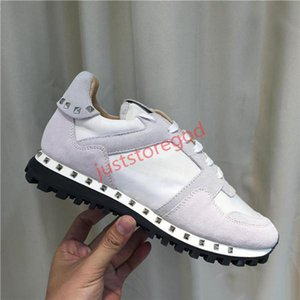 The latest white runner sneaker shoes transparent printing luxury ladies high-top sneakers canvas men and women fashion casual shoes