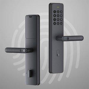 Handle Xiaomi YOUPIN Xiaoda eletrônico Smart Lock Fingerprint Intellgent porta com fechadura Keyless digitais inteligentes fechaduras da porta para Mijia APP