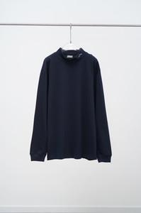 20ss Primavera-Verão Itália fresco verão de algodão manga comprida em torno do pescoço t-shirts Mulheres de manga curta T-shirt 200723