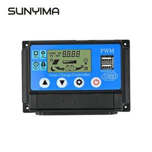 Бытовая электроника SUNYIM 50 12V / 24V LCD Солнечный контроллер заряда 40 30A 20A 10A для панелей солнечных батарей Регулятор контроллера