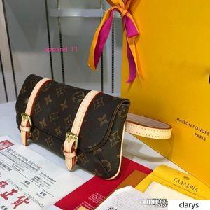 NO.1LouisVuitt New Pochette Marelle Bum Bag Waist Pouch 1Monograms Canvas M51159 Waist Bag size:25*12*4cm