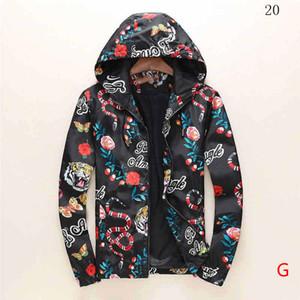Mens Designer Jacket Autumn Winter Coat Windbreaker Jacket Zipper Fashion Coat Outdoor Sport Jackets Asian Size Winter Tops Clothing