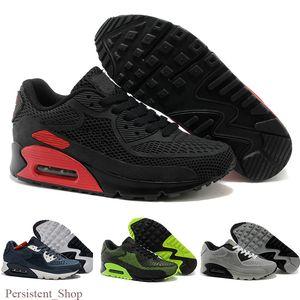 2020 New Air Cushion 90 KPU Men Women Sport Shoes High Quality Classical Sneakers Cheap air90 Be True Sports Running Trainers Tn Shoe