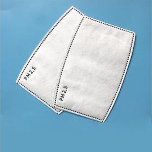 Anti-Staub-Tröpfchen wiederverwendbare Maske Filtereinsatz für Mask Papier Haze Mouth PM2.5 Filter Haushalts Protective Products