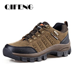 Men Casual Shoes Classic Waterproof High Quality Shoes Women Climbing Outdoor Sneakers Trendy Trekking Leather Footwear