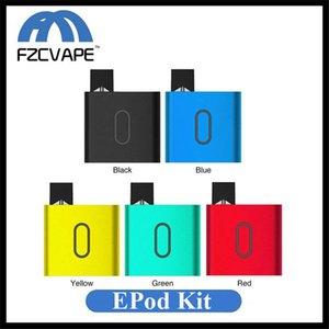 Authentique E Bossvape Epod Vape Kit 500mAh Lipo Mod batterie Portable système Pod avec cartouche 0,5ml Ebossvape Compatible