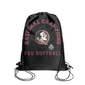 Garnet Florida State Seminoles 2018 Moda Sport zaino Cintura di NCAA-W Champions, Design meglio su String pacchetto