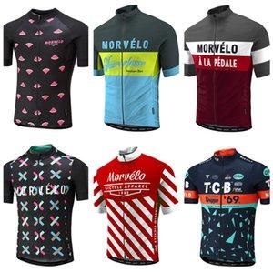 Shirt NUOVO 2020 Estate Morvelo Cycling Jersey Uomo manica corta MTB MX ciclismo shirt bici bicicletta copre Abbigliamento Ropa Ciclismo