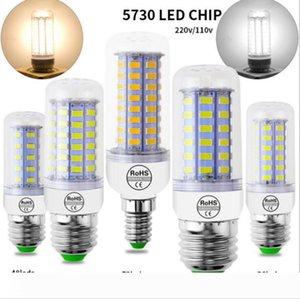 LED Lamp 10PC LOT LED Light 220V LED Bulb 48 56 69LEDs Corn Light SMD 5730 Lampada No Flicker light for Home Decoration.