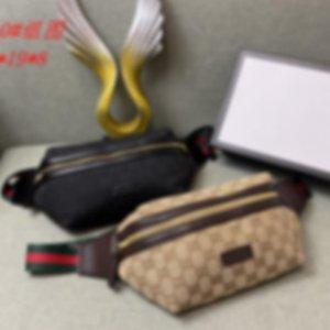 Ob all'ingrosso progettista pacchetto di Fanny per l'uomo delle donne di lusso del sacchetto della vita Sport Zaino Via pacchetto di Fanny Con Lettera esterna # 0510 l B104403X