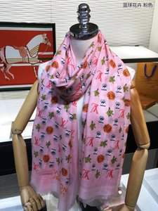 Basketball flower long scarf designer scarf bucket hat hats baseball cap women luxury designer scarves silk designer head scarf 2020 new