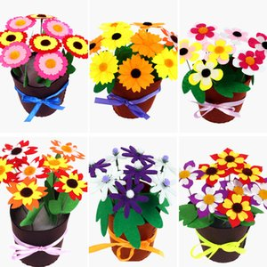 Toys for Children Crafts Kids DIY Flower Pot Potted Plant Kindergarten Learning Education Toys Montessori Teaching Aids Toy