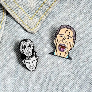 Horror Movie novità Pins smalto Pin Lapel Pins