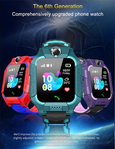 Z6 Children Bluetooth Smart Watch IP67 LIFE WATERPROOF 2G SIM Card LBS Tracker SOS Kids Smartwatch For iPhone Android Smartphone DHL