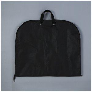 GItcJ Foldable cloth gift suit jacket cover clothes bag printable Foldable non-woven cloth gift suit dust Non-woven jacket Coat coat cover c