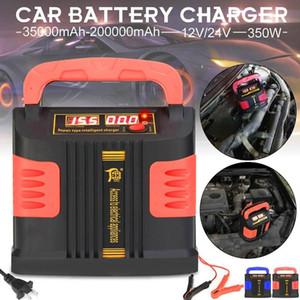 110V Automatic / 220V Carregador completa Reparação Intelligent 12 / 24V bateria de carro 350W carro 12V / 24V CARREGADOR DE BATERIA