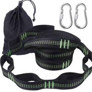 Outdoor Hammock Special Tie Strap High Load Bearing Tree Strap Knot 3 M 16 Ring With 2 Hiking And Camping Camping & Hiking Carabiner M k4Re#