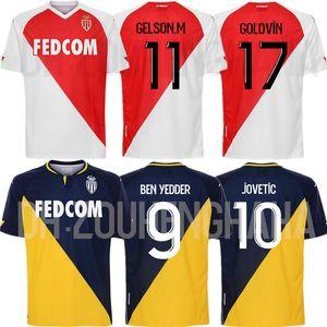 AS Monaco Maillots de pied BEN YEDDER Soccer Jerseys 2020 21 Glik GOLOVIN JOVETIC Gelson FOFANA TCHOUAMENI KEITA chemise BALDE football