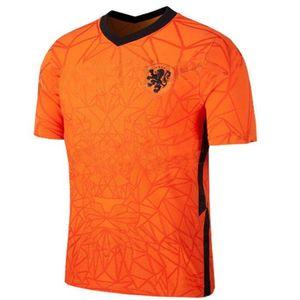 2020 2021 NetherlandsES soccer jerseys DE JONG VAN DIJK VIRGIL 2018 2019 DE LIGT MEMPHIS Van Basten Football shirts