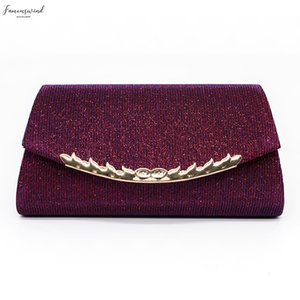 Woman Evening Bag 2020 Handbags Party Banquet Glitter Women Bags Brand Wedding Clutches Shoulder Bag Purse Bolsas Mujer