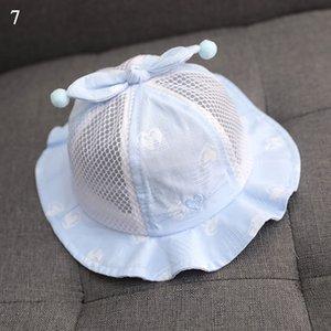 Summer Cute Baby Sun Hat Heart Print Baby Boy Girl Caps Outdoor Kids Bucket Hat Cute Children Beach Caps Beanie Sunscreen