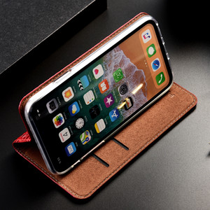 Crazy Horse Genuine Leather Case For Huawei Honor 8 8S 9 9i 9N 10 10i 20 20i Play Pro Lite Note 10 Flip Cover Leather Cases