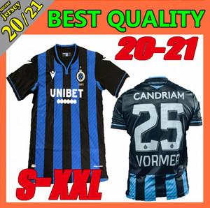 Größe S-XXL 2020 Club Brugge KV Fußball Jerseys 20 21 Heim Vanaken Okereke Vormer Brügge Fußballhemden