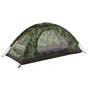 Çadır kamp Carpas De Taşınabilir Kamuflaj Ve Kamp Kamp Yürüyüş Seyahat Plaj Çadır Çadırlar Outd B5oO # Açık 1 Kişi Tek Kat İçin