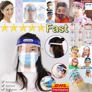 미국 주식, 성인 아이 클리어 필름 얼굴 쉴드 재사용 방지 먼지 PM2.5 안개 오염 만화 애니메이션 마스크 할로윈 연예인 마스크 마스크