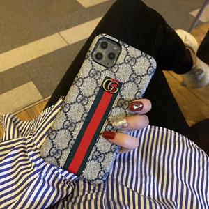 Designer GG téléphone cellulaire cas pour l'iPhone 11 Pro XS Max XR X 7 8 Plus