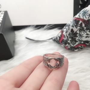 S925 Sterling Real Silber Ring Hohe Qualität Silber Ring König Schlange Gestreifte Persönlichkeit Paar Ring Modeschmuck