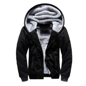 Men Designer Jacket winter Thick Coat Luxury Sweatshirt Hoodie Long Sleeve Zipper Hoodies Brand hooded tops Outdoor Mens Sportswear Big Size