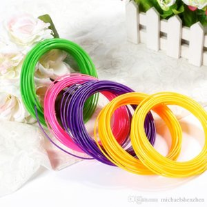 Hot sale PLA Filament 1.75mm 30 different colors 5M Color all 3D Pen Filament 3D Printer SGS Approval Material For 3D Printing Pen C52