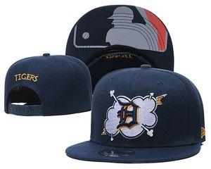 Kaplanlar Spor şapka Detroit Beyzbol Snapback Şapka Kadın Erkek Cap strapback Kalça Hop Ucuz Snapbacks Hat Caps
