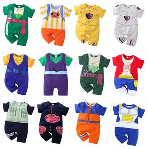 Çocuklar Tasarımcı Giyim Karikatür Anime Romper Bebekler Bebek Kısa Kollu Cosplay Tulumlar 2020 Yaz Yeni Bebek Giyim M1760 Tırmanma