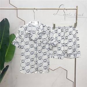 Alto grado camisones de seda pijamas exclusivos transpirable ropa de dormir para mujer de marca pijamas Set suave de lujo del camisón de la venta caliente