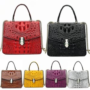 New Fashion Hot Sale Egirl Chain Totes Casual Wild Lady Punk Leather Cross Body Bag Lazy Wind Solid Color Large Capacity Shoulder Bag 202#234