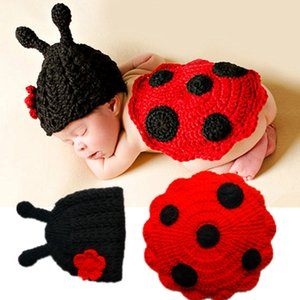 Baby Photography Clothing Baby Hundred Days Picture Hand Knitted Beetle Beetle H041 Newborn Photography Clothes