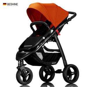 65cm haut Paysage multifonctionnel rue Voyage style rapide Fold bébé bébé poussette Jogger Nouveau-né landau