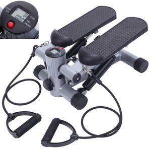 Aerobic Step Fitness Air Stair Climber Stepper Exercise Machine Equipment Silver